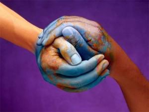 handen in elkaar